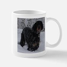 Puppy in a Snowstorm Mug
