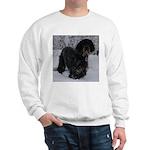 Puppy in a Snowstorm Sweatshirt