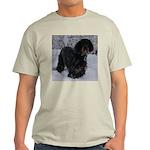 Puppy in a Snowstorm Light T-Shirt