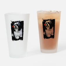 Shih Tzu Dog Drinking Glass