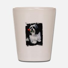 Shih Tzu Dog Shot Glass