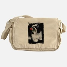 Shih Tzu Dog Messenger Bag