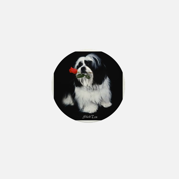 Shih Tzu Dog Mini Button