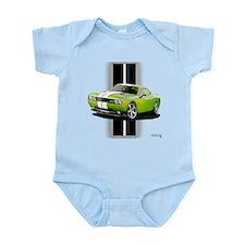New Challenger Green Infant Bodysuit