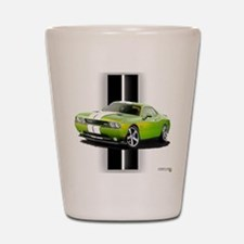 New Challenger Green Shot Glass