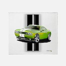 New Challenger Green Throw Blanket