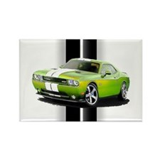 New Challenger Green Rectangle Magnet