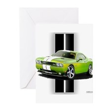 New Challenger Green Greeting Cards (Pk of 20)