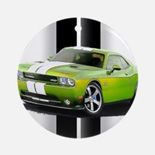 New Challenger Green Ornament (Round)