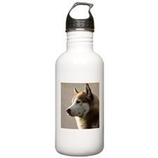Siberian Husky Dog Sports Water Bottle