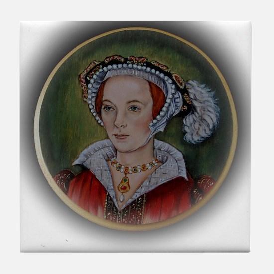 Katherine Parr Tile Coaster