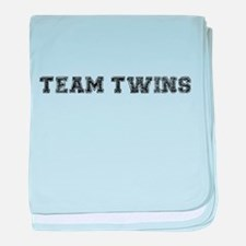 Team Twins baby blanket