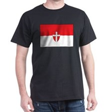 Vienna Flag Black T-Shirt