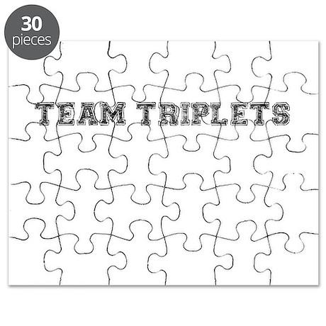 Team Triplets Puzzle