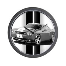 New Challenger Gray Wall Clock