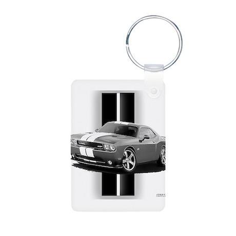 New Challenger Gray Aluminum Photo Keychain