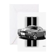 New Challenger Gray Greeting Card