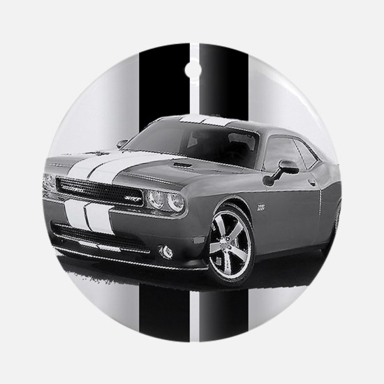 New Challenger Gray Ornament (Round)