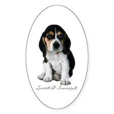 Beagle Puppy Dog Decal