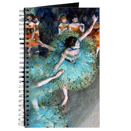 Degas - Green Dancer 1879 Journal