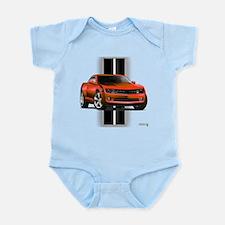 New Camaro Red Infant Bodysuit