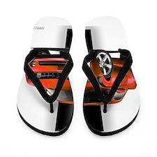 New Camaro Red Flip Flops