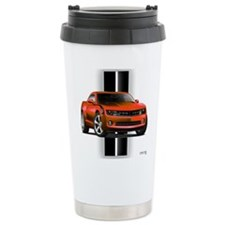 New Camaro Red Travel Mug