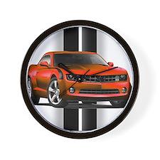 New Camaro Red Wall Clock