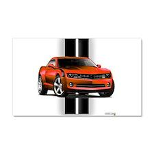 New Camaro Red Car Magnet 20 x 12