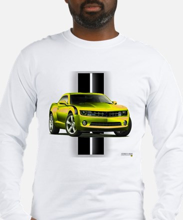 New Camaro Yellow Long Sleeve T-Shirt