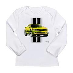 New Camaro Yellow Long Sleeve Infant T-Shirt