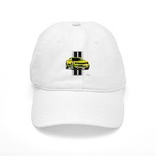 New Camaro Yellow Baseball Cap