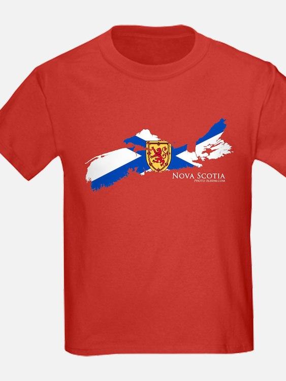 Nova Scotia Flag T
