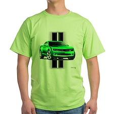 New Camaro Green T-Shirt