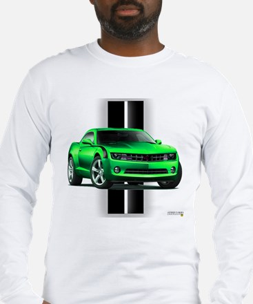 New Camaro Green Long Sleeve T-Shirt