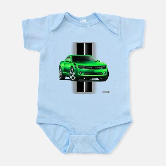 New Camaro Green Infant Bodysuit