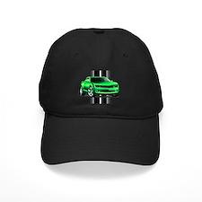 New Camaro Green Baseball Hat