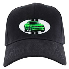 New Camaro Green Baseball Hat
