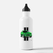 New Camaro Green Water Bottle