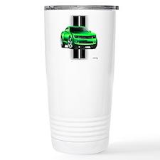 New Camaro Green Travel Coffee Mug