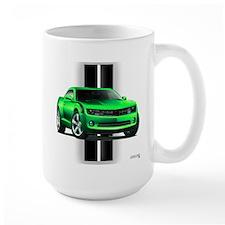 New Camaro Green Mug