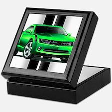 New Camaro Green Keepsake Box
