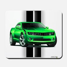 New Camaro Green Mousepad