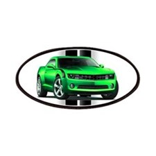 New Camaro Green Patches