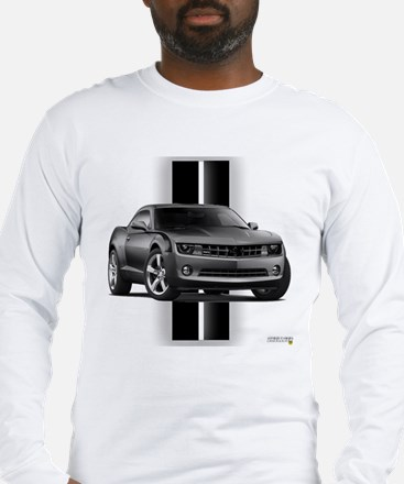 New Camaro Gray Long Sleeve T-Shirt