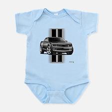 New Camaro Gray Infant Bodysuit