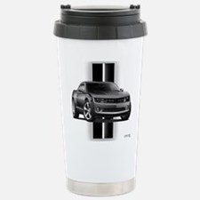 New Camaro Gray Stainless Steel Travel Mug