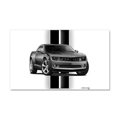 New Camaro Gray Car Magnet 20 x 12