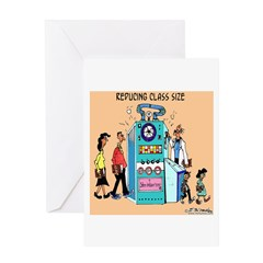 Reducing Class Size Greeting Card