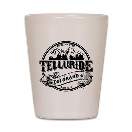Telluride Old Circle 3 Shot Glass